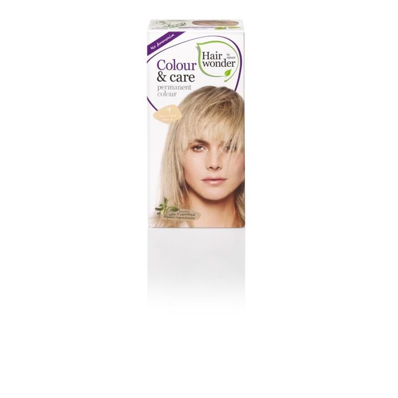 BARVA ZA LASE HAIRWONDER BREZ AMONIJAKA VERY LIGHT BLOND 9